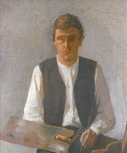Giorgio Morandi, Autoritratto