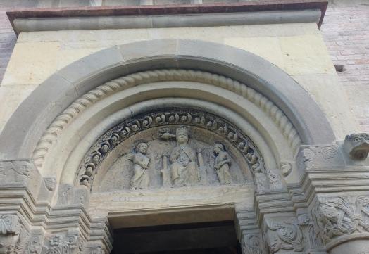 Santa Maria di Vezzolano, Annunciazione
